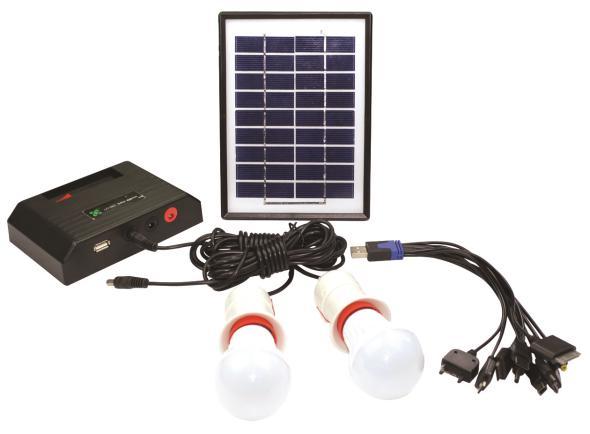 Portable solar lighting system ZJLC-002 - ZheJiang LongChi Technology