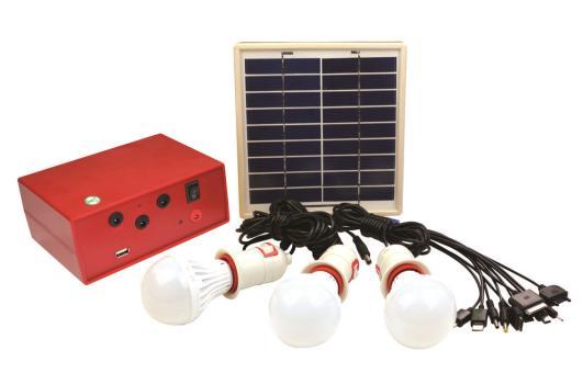 Portable solar lighting system ZJLC-07 - ZheJiang LongChi Technology